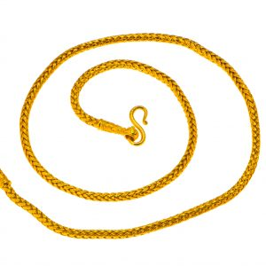 24K Woven Gold Chain