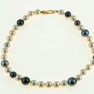 Mekimoto and South Sea Pearl Necklace